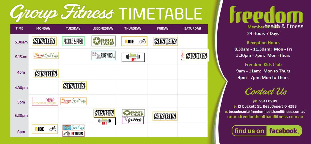 Big Timetable